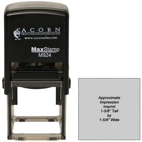 Self Inking Stamp M-924 1-9/16 x 1-9/16