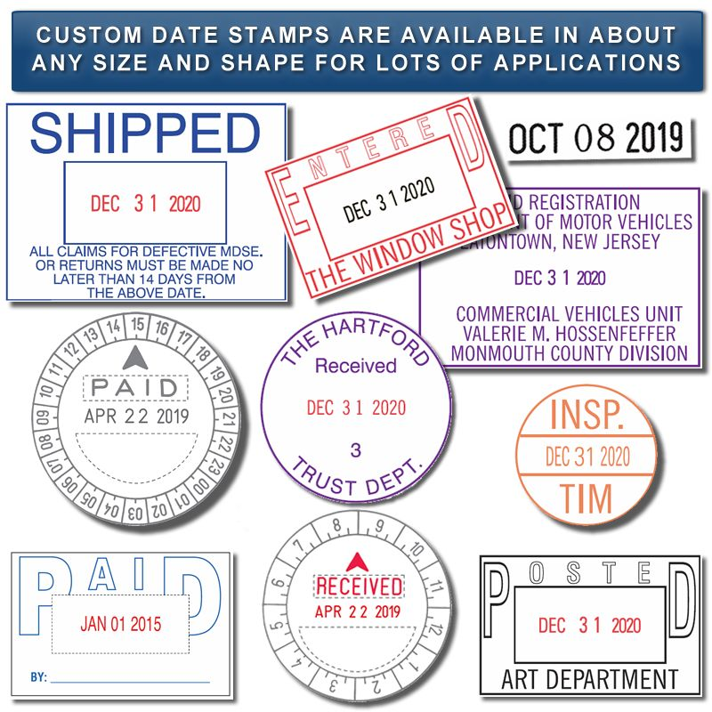 ACO PSI300 Date Stamps