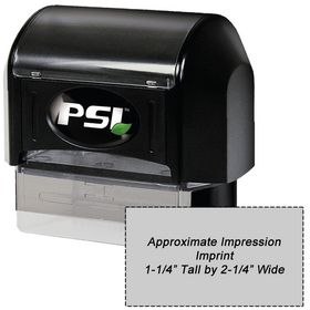 PSI3255 Pre Inked Stamp 1-1/4 x 2-1/4