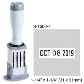 Shiny Inspection Stamp 1-1/4 x 1-1/4