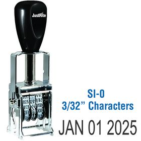 Self Inking Date Stamp 3/32 Characters