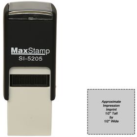 Self Inking Stamp SI-5205 Size 1/2 x 1/2