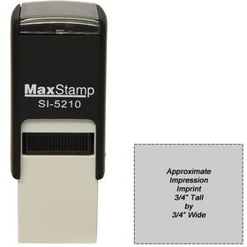 Self Inking Stamp SI-5210 Size 3/4 x 3/4