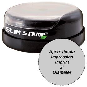 Slim Stamp 50R Pre-Inked Stamp 2 Diameter