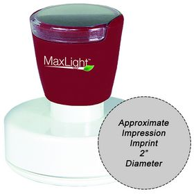 MaxLight XL2-655 Pre Inked Stamp 2 Diameter