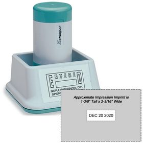 N89 XStamper Large Date Stamp Size 1-3/8 x 2-1/8
