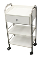 Salon Trolley Cart with Single Drawer