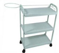 Three Level (Shelf) Plastic Trolley Cart