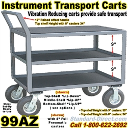 INSTRUMENT CARTS & TRUCKS 99AZ