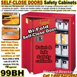 FLAMMABLE LIQUID SAFETY CABINETS 99BH