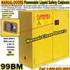 FLAMMABLE LIQUID SAFETY CABINETS 99BM