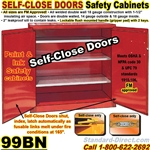 FLAMMABLE LIQUID SAFETY CABINETS 99BN
