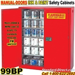 PAINT AND INK FLAMMABLE LIQUID SAFETY CABINETS 99BP