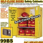 FLAMMABLE LIQUID SAFETY CABINETS 99BS