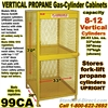 GAS CYLINDER SAFETY CABINETS 99CA