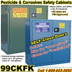 FLAMMABLE LIQUID SAFETY CABINETS 99CKFK