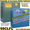 CHEMICAL LIQUID SAFETY CABINETS 99CLFL