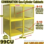 GAS CYLINDER SAFETY CABINETS 99CU