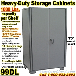 STEEL STORAGE CABINETS / 99DL