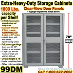 STEEL STORAGE CABINETS / 99DM