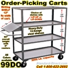 ORDER PICKING CARTS WITH WRITING SHELF 99DO