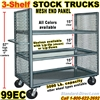 SHELF TRUCKS & WAREHOUSE TRUCKS 99EC
