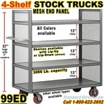 SHELF TRUCKS & WAREHOUSE TRUCKS 99ED