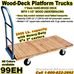 WOOD PLATFORM TRUCKS 99EH