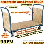 WOOD DECK PLATFORM TRUCKS 99EV