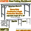 FOLDING STEEL WORK BENCHES / 99FTS