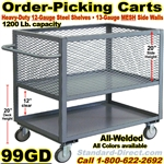 PACKAGE, WAREHOUSE TRUCKS 99GD