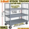 SHELF TRUCKS & WAREHOUSE TRUCKS 99KC
