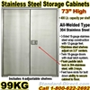 STAINLESS STEEL STORAGE CABINETS / 99KG