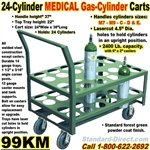 MEDICAL GAS CYLINDER CARTS 99KM