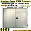 STAINLESS STEEL WALL CABINET / 99KS