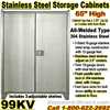 STAINLESS STEEL STORAGE CABINETS / 99KV