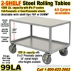 SOFT RIDE ROLLING STEEL TABLES 99LA