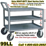 STEEL SERVICE CARTS 99LL