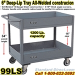 DEEP TRAY SERVICE CARTS 99LS