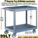 DEEP TRAY SERVICE CARTS 99LT