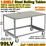 ROLLING STEEL TABLES 99LV