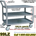 STEEL SERVICE CARTS 99LZ
