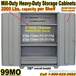 STEEL STORAGE CABINET WITH DRAWER / 99MO