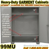 HEAVY DUTY STEEL GARMENT CABINETS / 99MU