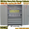 STEEL STORAGE CABINET WITH DRAWERS / 99MZ