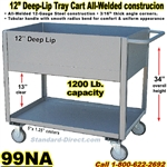DEEP TRAY SERVICE CARTS 99NA