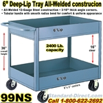 DEEP TRAY SERVICE CARTS 99NS