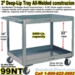 DEEP TRAY SERVICE CARTS 99NT