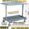 STEEL SERVICE CARTS 99NV