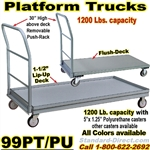 STEEL PLATFORM TRUCKS 99PU